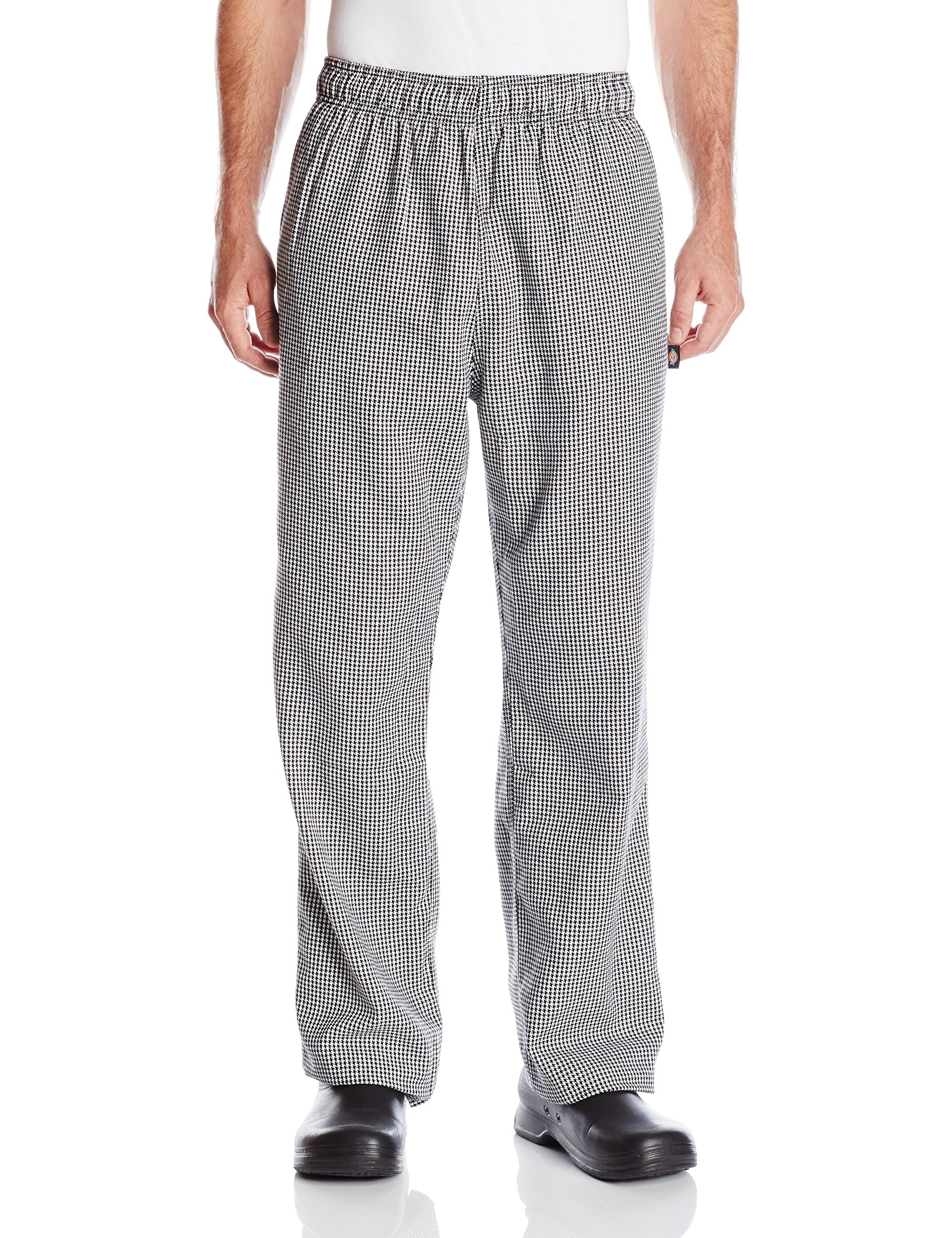Dickies Chef Traditional Baggy Pant, Houndstooth, Large by Dickies