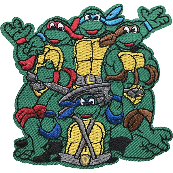 Amazon.com: Teenage Mutant Ninja Turtles Movie Cartoon ...