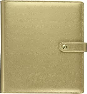 me & my BIG ideas CODC-07 Create 365 The Happy Planner Classic Deluxe Cover, Gold