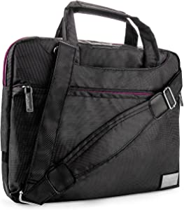 Vangoddy Durable Nylon Lightweight Compact Messenger Bag for Acer Iconia Tab 10 A3 A20, Iconia Tab 8 A1 840