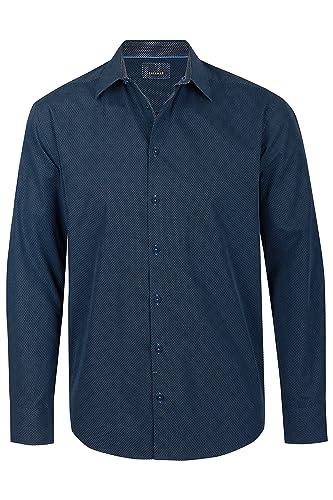 Calamar Langarmhemd mit Kentkragen, Herrenhemd, 100% Baumwolle, 109735 5S04