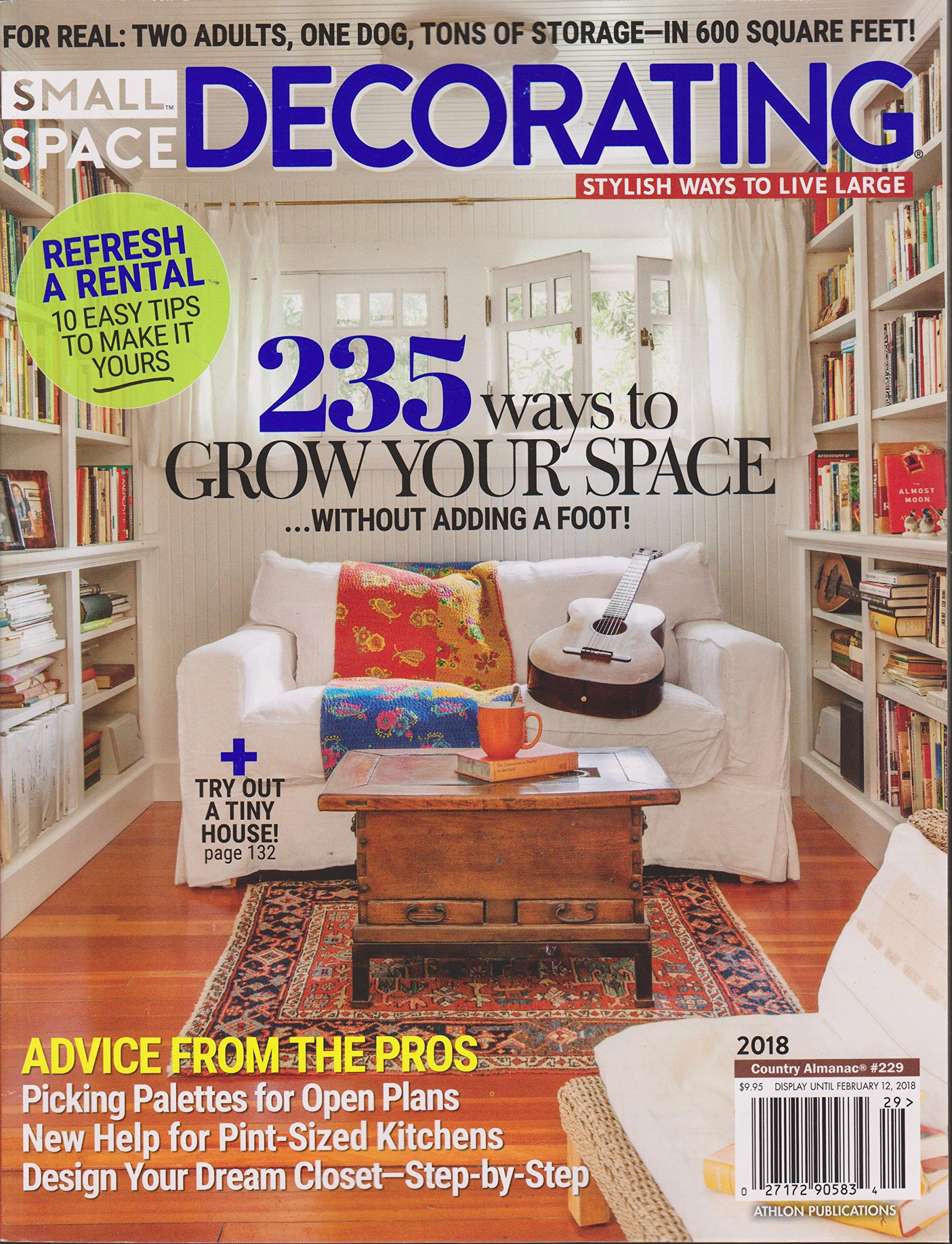 Small Space Decorating Magazine 2018   Country Almanac 229 ...