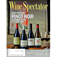 Deals on Wine Spectator Magazine Subscription 1-Year 15-Issues