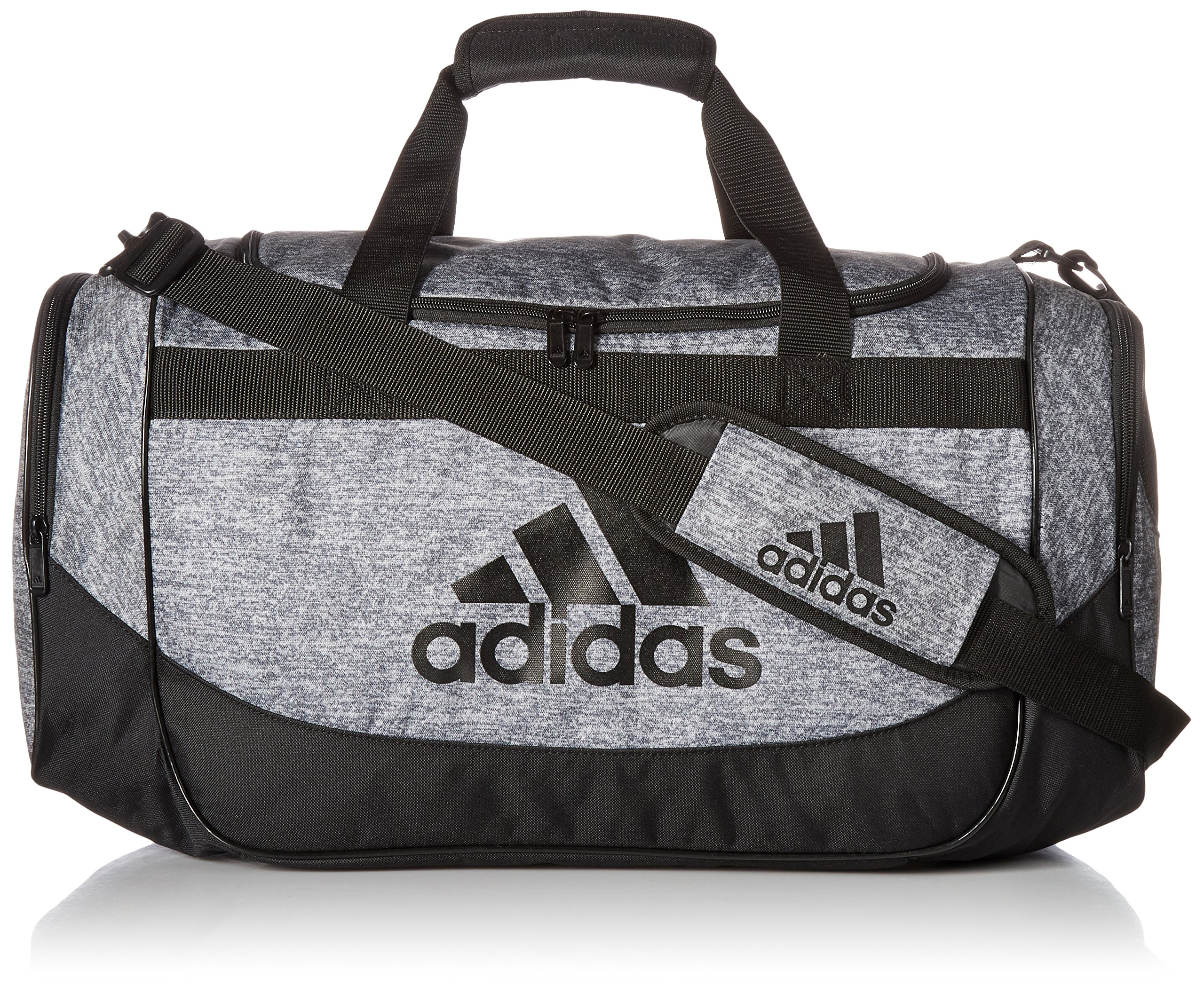 2cda726f003d Galleon - Adidas Unisex Medium Defense Duffel Onix Jersey/Black One Size