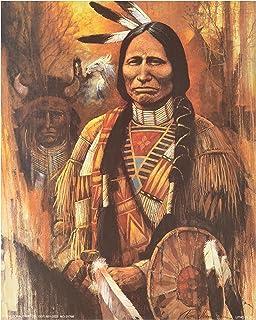 Amazon.com: Vision Seeker Native American Wall Decor Art Print ...