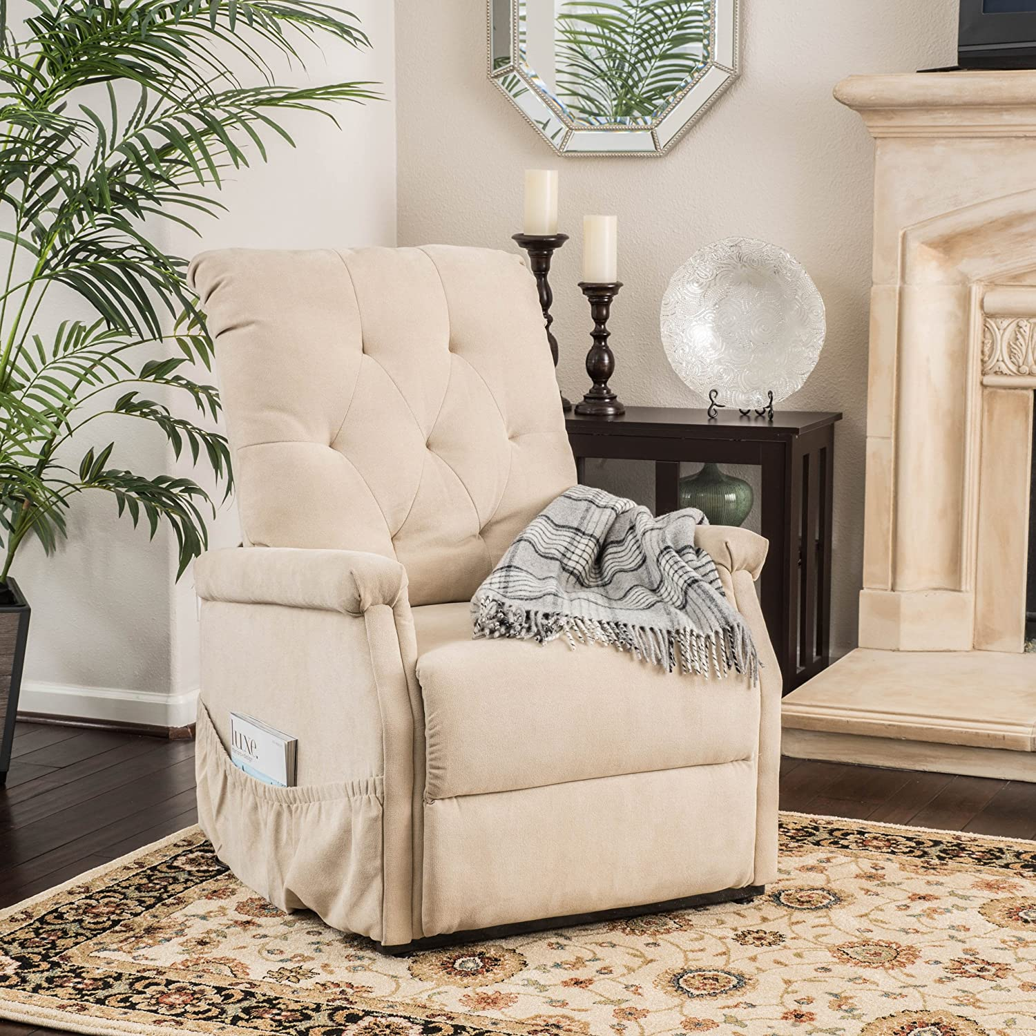 Amazing Christopher Knight Home Warrington Lift Up Recliner Chair Color Wheat Pabps2019 Chair Design Images Pabps2019Com