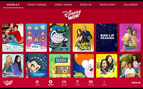 amazoncom disneynow shows live tv appstore for android