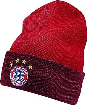 8204e5eb1ca46 adidas FC Bayern 3-Stripes Beanie Hat True Fcb Craft Red White ...