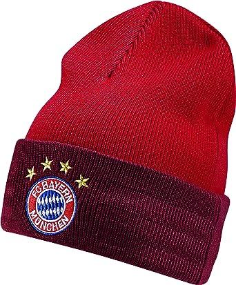 adidas Gorra FC Bayern 3-Rayas de Lana, del Craft Red F12/White ...