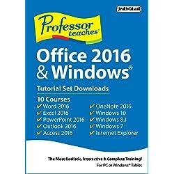 Professor Teaches Office 2016 & Windows Tutorial Set Downloads [Download]