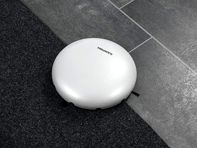 CleanMaxx Aspirateur Robot Blanc, Perlmutt Blanc