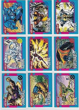 55dce1d28f8 Amazon.com  1992 X-Men Series I Base Set of 100 Cards NM M Marvel  Toys    Games