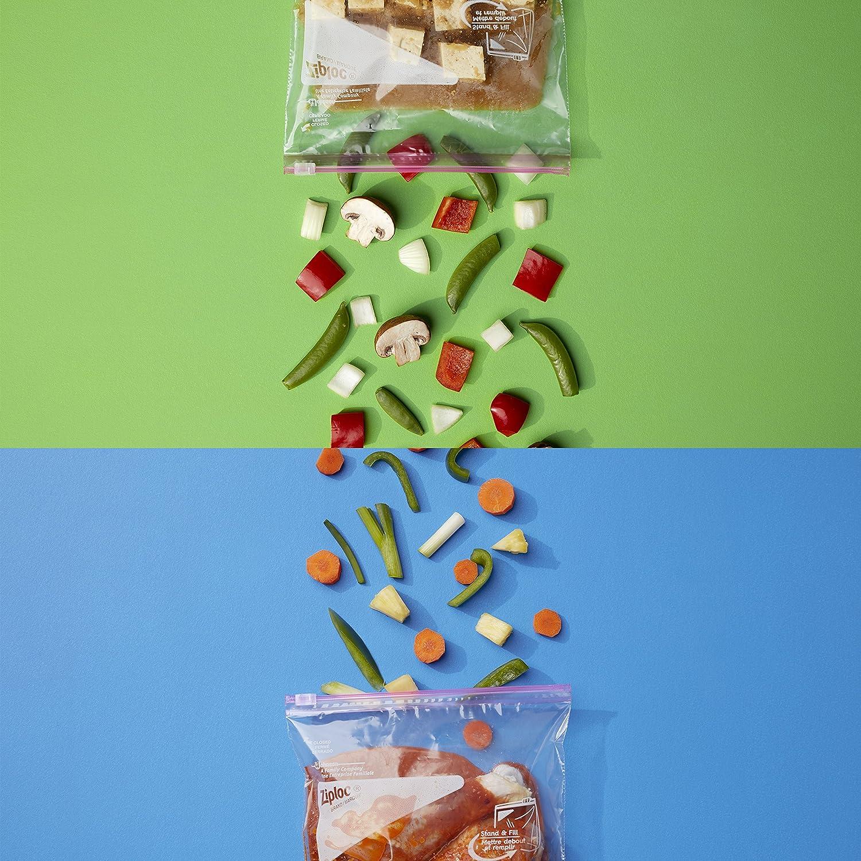 Amazon.com: Ziploc Gallon Slider Storage Bags, 96 Count: Health ...