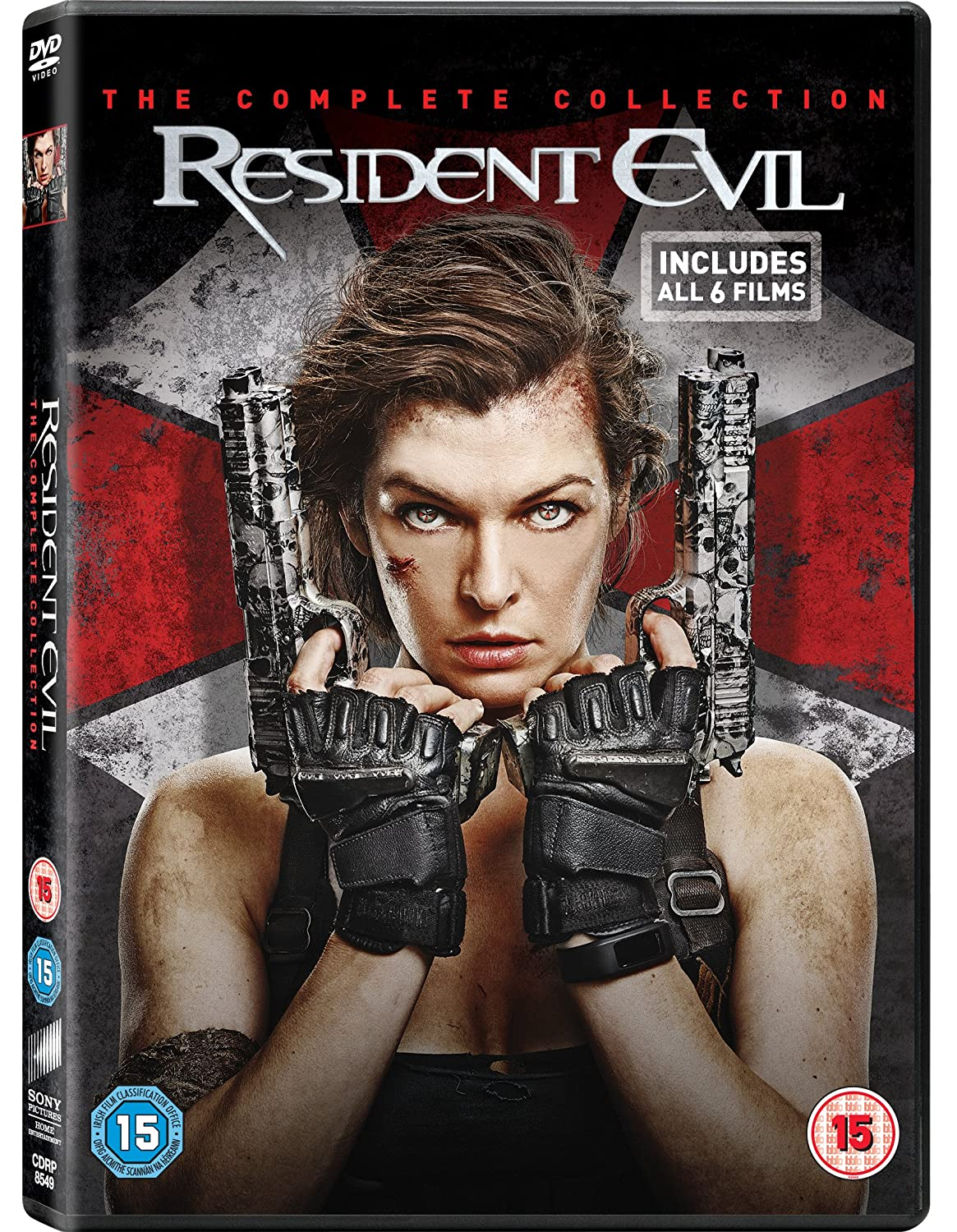 Amazon Com Resident Evil The Complete Collection Dvd 2017