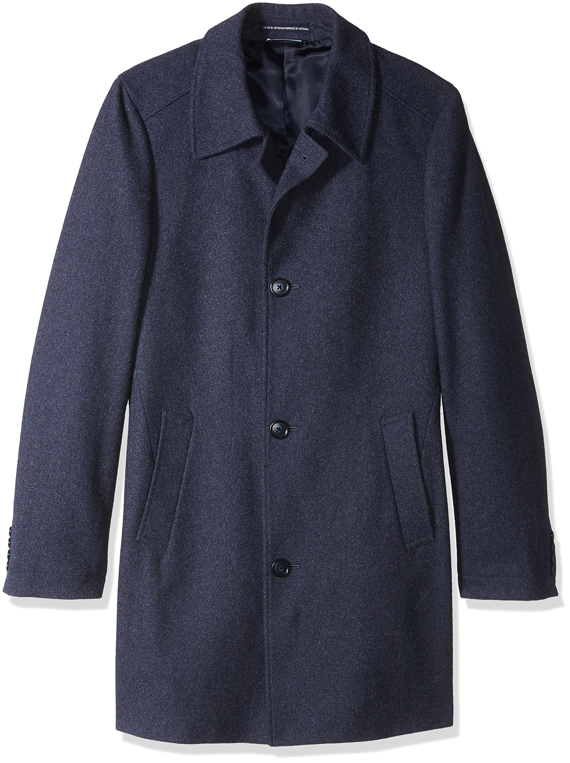Tommy Hilfiger Men's Bloom 35 inch Top Coat, Blue, 40R by Tommy Hilfiger