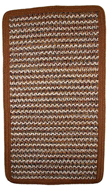 Amazon Com Thorndike Mills Rectangle Braided Rug 3 Feet By 2 Feet