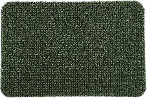 Clean Machine Doormat Flair, 24 by 36-Inch, Spruce Green