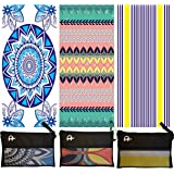 Elite Trend Microfiber Beach Towel for Travel:Oversized XL 78 x 35 Inch Quick Drying, Lightweight, Fast Dry Shower & Body Towels, Sand Free, Perfect for Workout, Gym, Camping, Fitness,Yoga