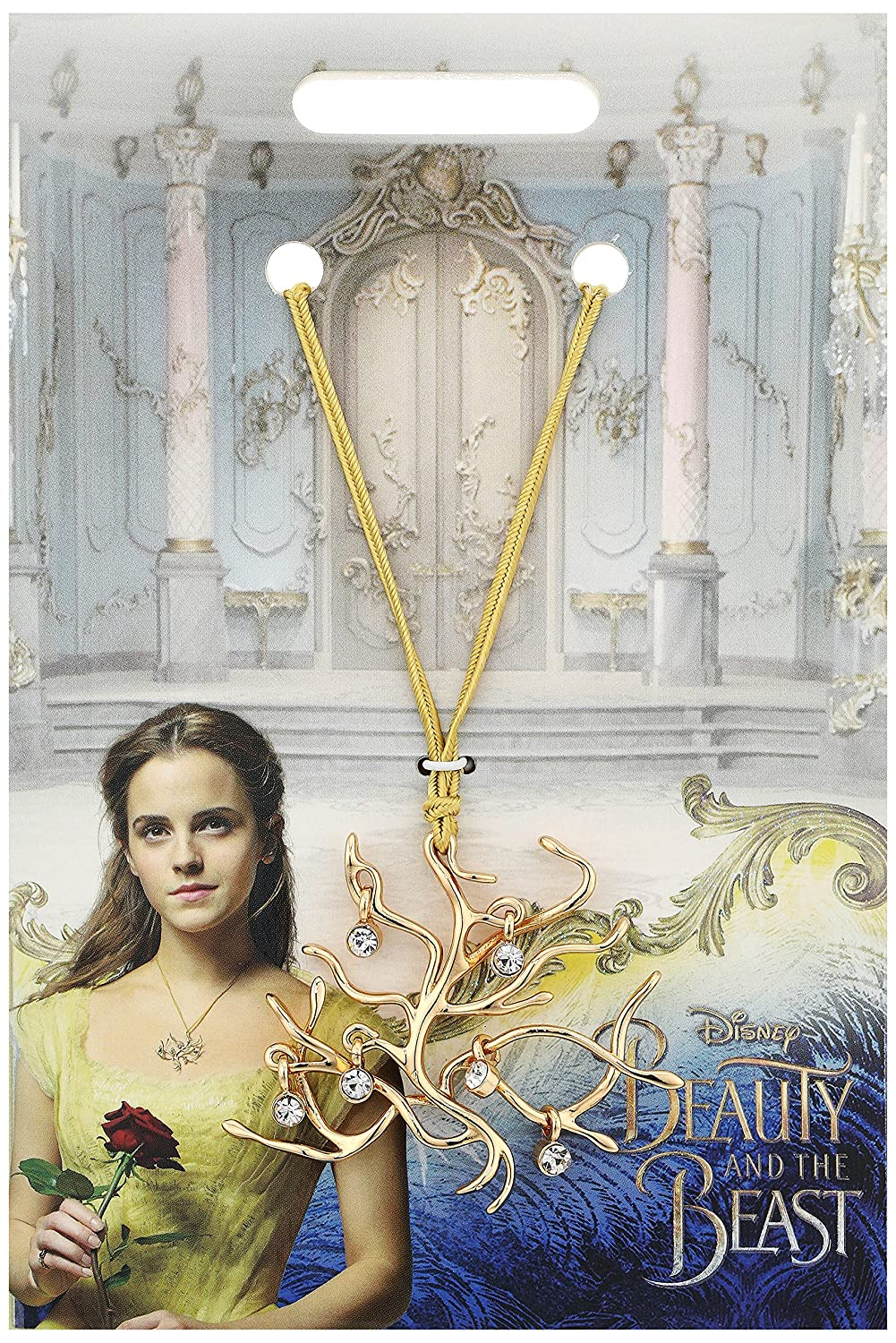 Disney Beauty and the Beast Official Movie Merchandise Tree of Life Pendant Necklace