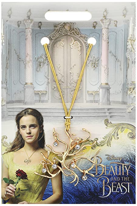2e0b081a5 Amazon.com: Disney Beauty and the Beast Official Movie Merchandise Tree of  Life Pendant Necklace: Jewelry