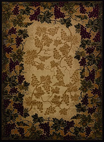United Weavers of America Affinity Collection Beaujolais Rug, 7-Feet 10-Inch by 10-Feet 6-Inch, Purple