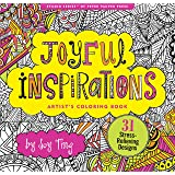 Joyful Inspiration Adult Coloring Book (31 stress-relieving designs) (Artists' Coloring Books)