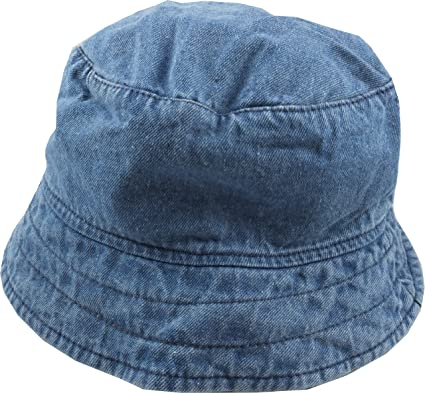 70ba234dc1365 Bucket Hat 'Reni' Stone Roses Style - Denim: Amazon.co.uk: Clothing
