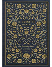 The Holy Bible: English Standard Version, Navy, Cloth over Board, Illuminated Bible: Art Journaling Edition