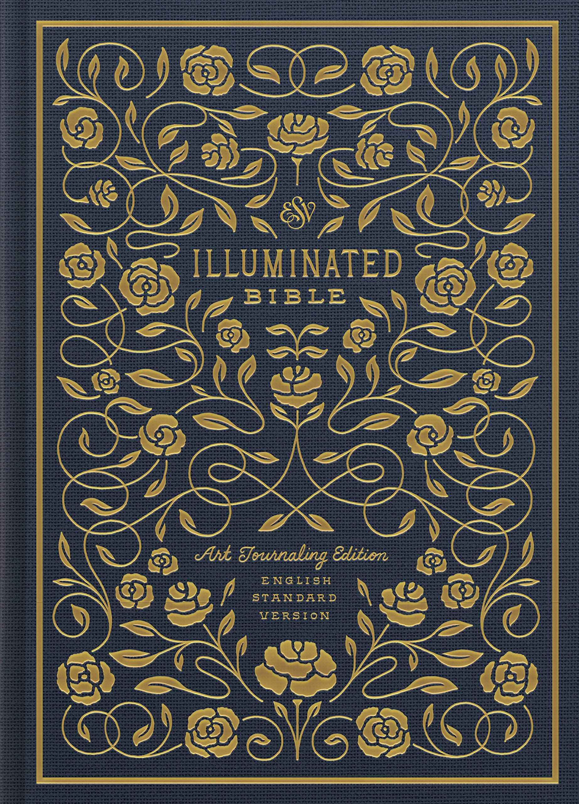 ESV Illuminated Bible, Art Journaling Edition (Cloth over Board ...