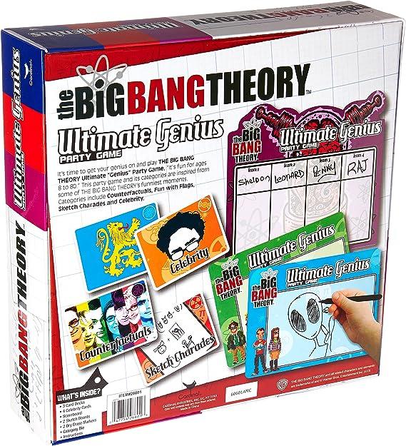 Amazon.com: The Big Bang Theory Ultimate Genius Juego de ...