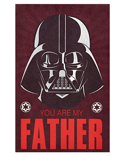 Amazon American Greetings Star Wars Birthday Card For Dad With