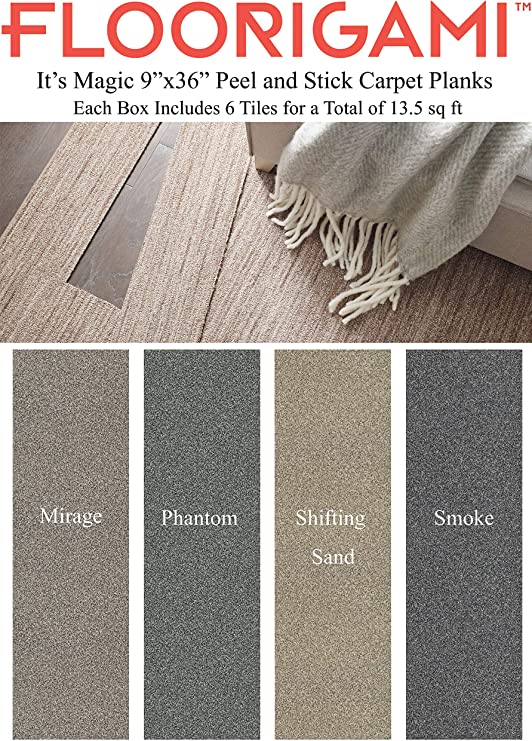Amazon Com Floorigami It S Magic By Shaw Floors Set Of 6 Carpet