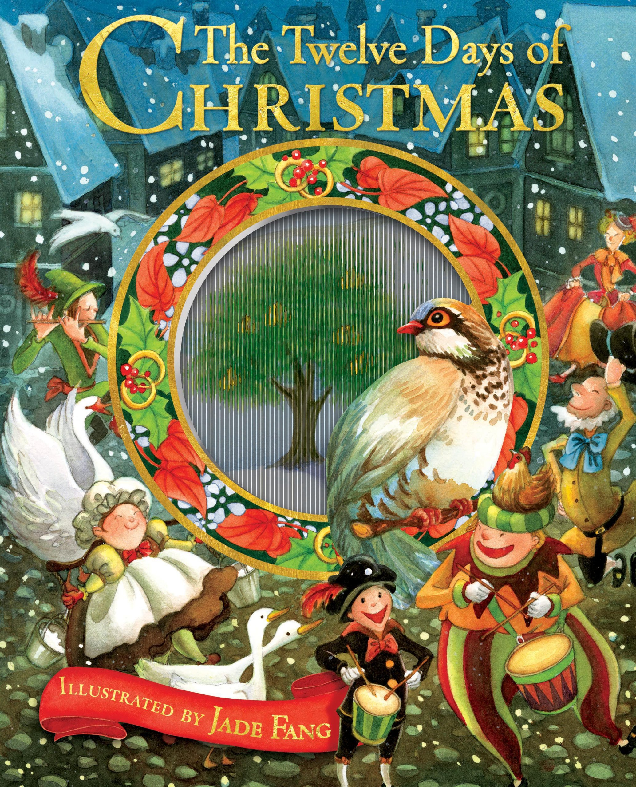 the twelve days of christmas accord publishing jade fang 9781449403614 amazoncom books - 12 Days Of Christmas Book