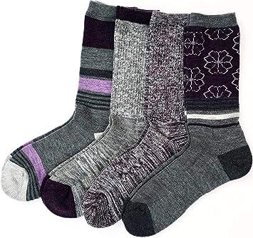 8a3d527f6 Amazon.com   Kirkland Signature Womens Trail Sock Pack of 4   Clothing
