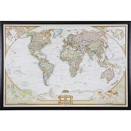 Amazon.com: Craig Frames Wayfarer, Executive World Push Pin Travel ...