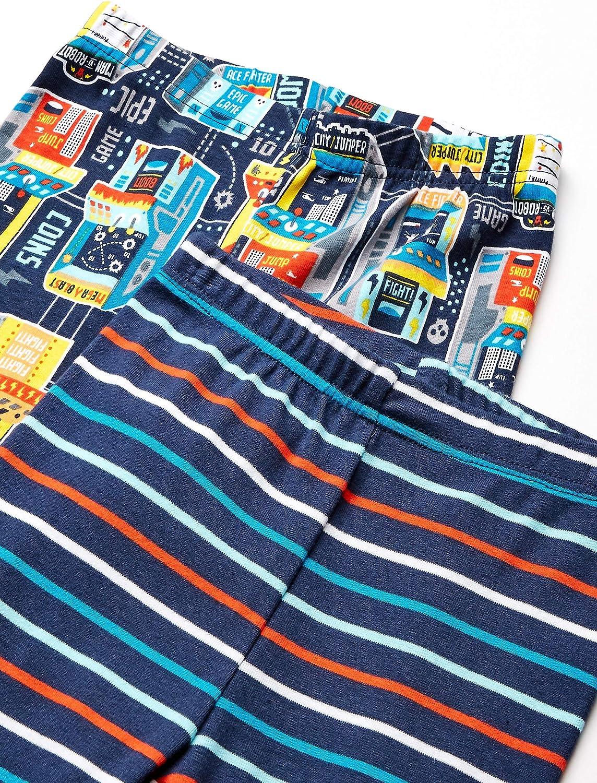 Pack de 6 Spotted Zebra 6-Piece Snug-fit Cotton Pajama Set Unisex ni/ños
