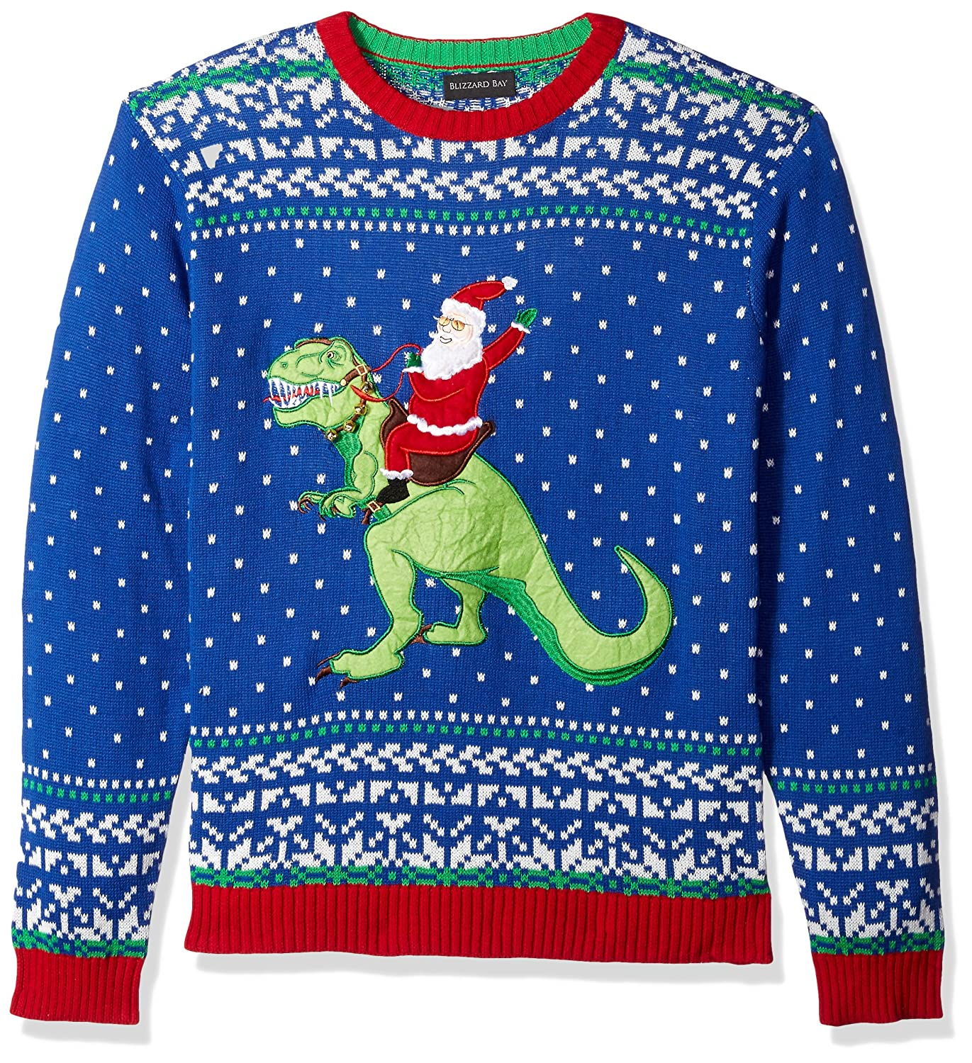 Blizzard Bay Mens Three Clever Girls Ugly Christmas Sweater