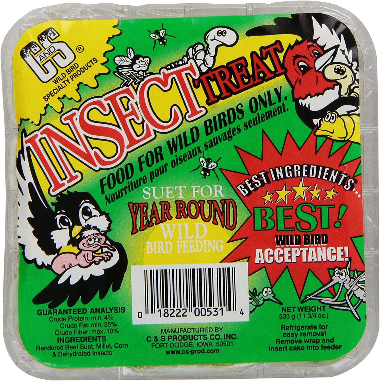 C S Products Insect Treat, 12-Piece