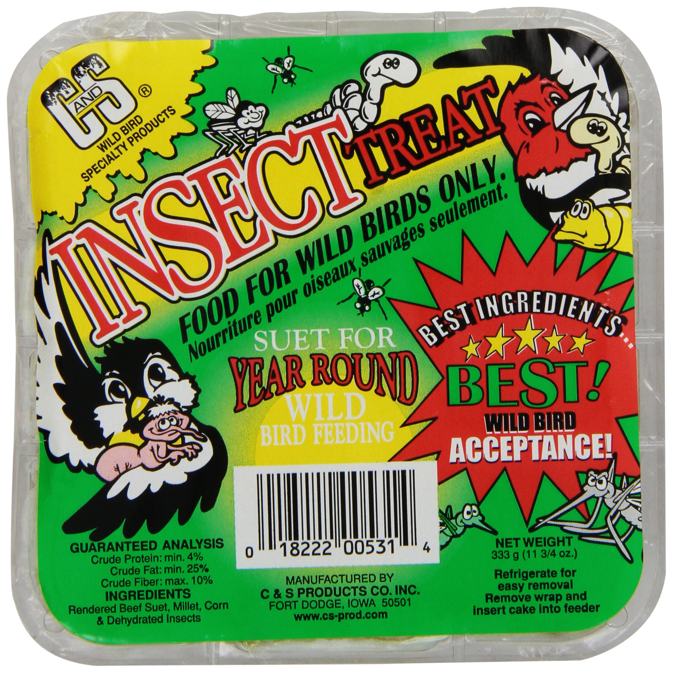 C & S Products Insect Treat, 12-Piece by C & S Products