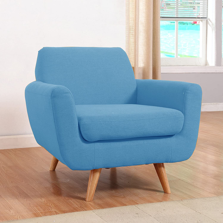 Amazon Divano Roma Furniture Modern Mid Century Linen