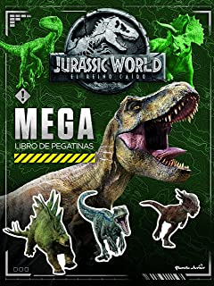 Jurassic World El Reino Caído Libro Para Colorear Amazon