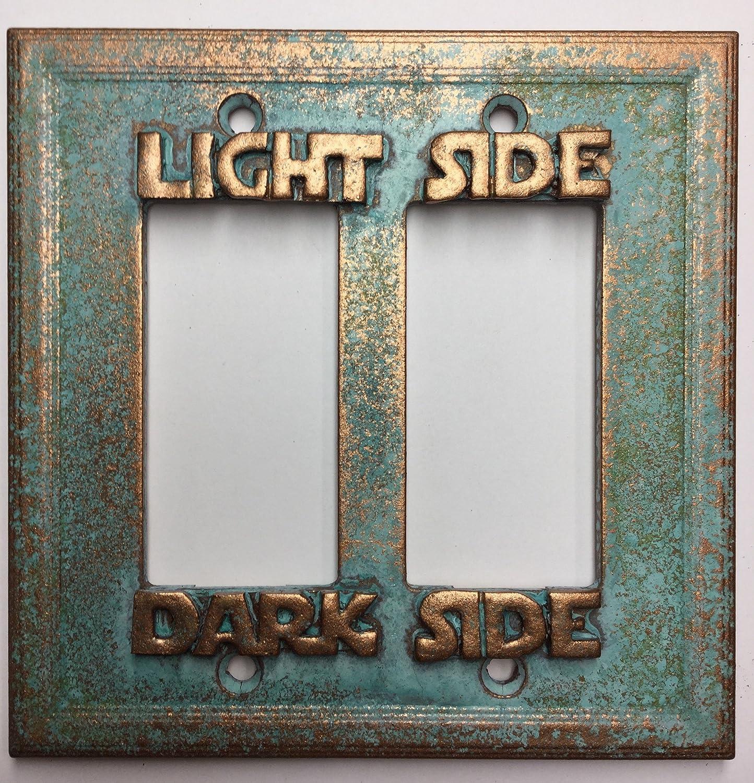 Star Wars Rocker Switch//Outlet Cover Light//Darkside