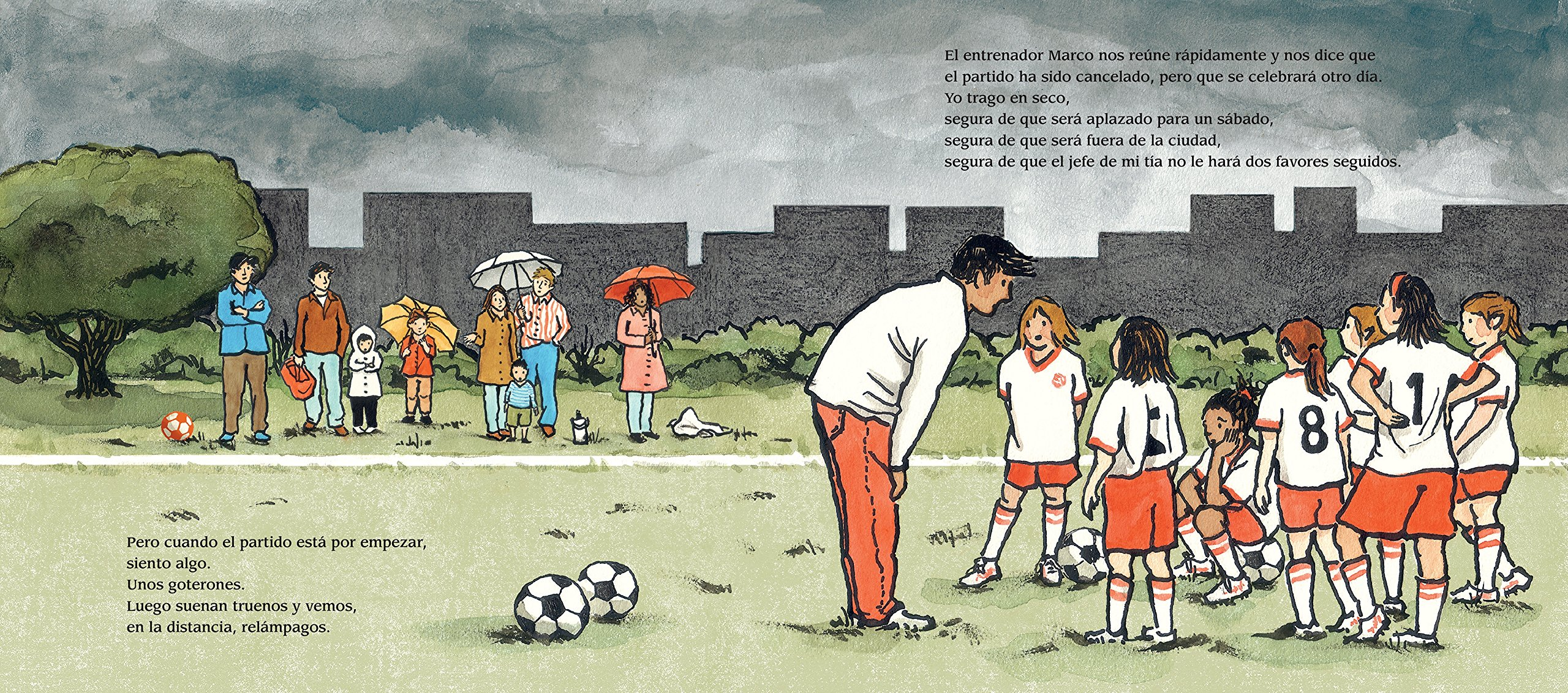 El fútbol me hace feliz (Spanish Edition): Maribeth Boelts, Lauren Castillo: 9780763689056: Amazon.com: Books