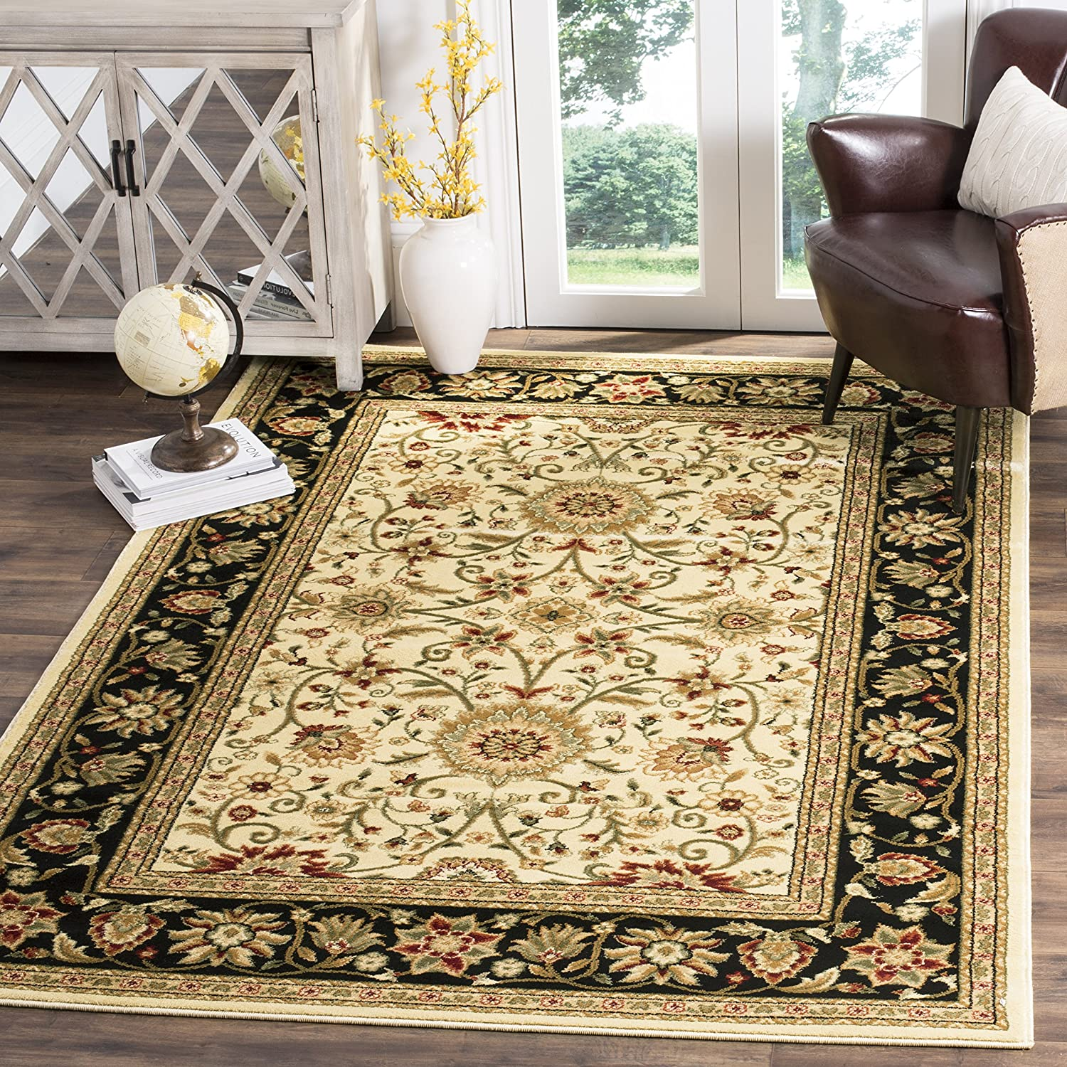 Safavieh Lyndhurst Collection LNH212J Traditional Oriental Grey and Beige Area Rug (2'3