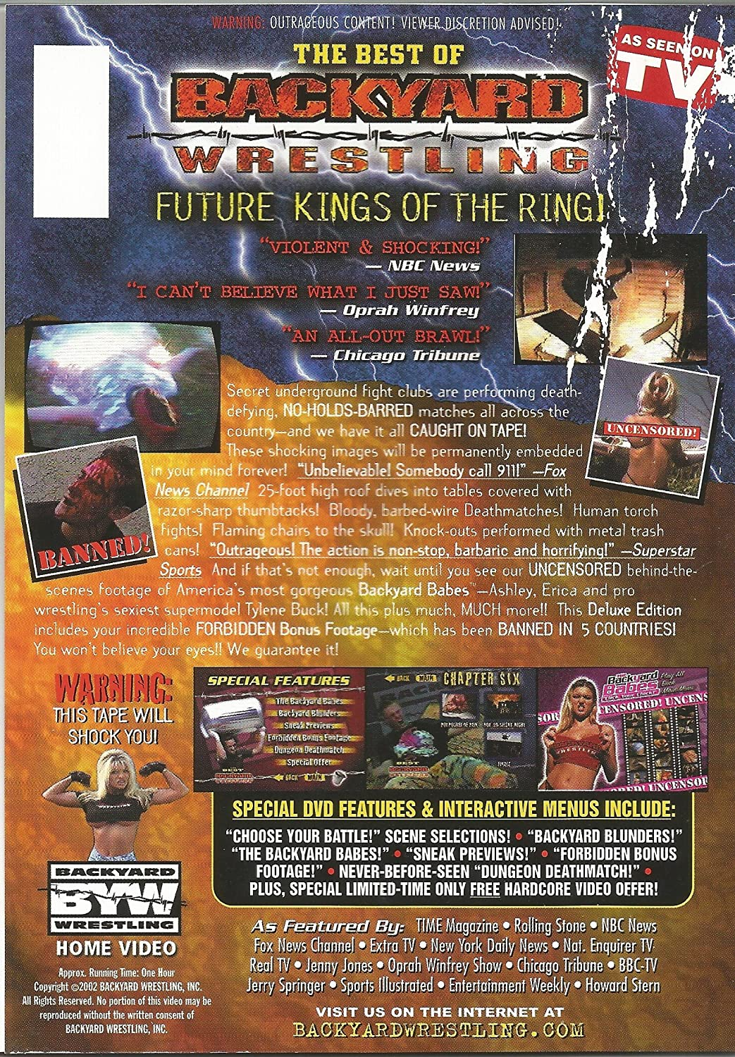 amazon com best of backyard wrestling future kings of the ring