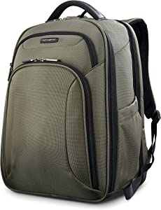 Samsonite Xenon 3.0 Checkpoint Friendly Backpack, Sage Green, Large