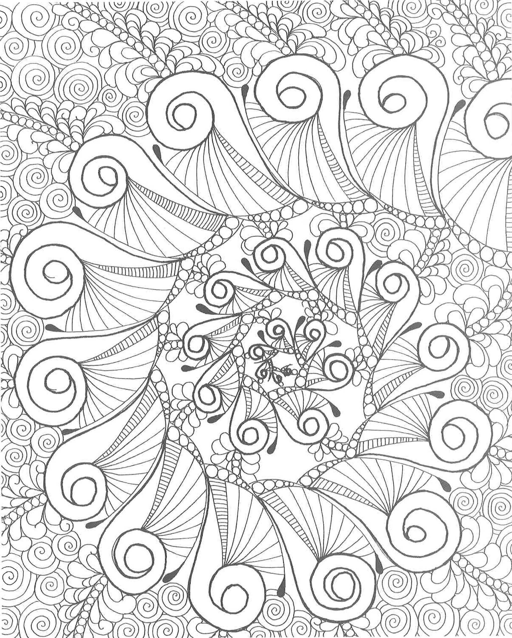 Amazon Zendoodle Coloring Calming Swirls Stress Relieving Designs To Color And Display 9781250086495 Nikolett Corley Books