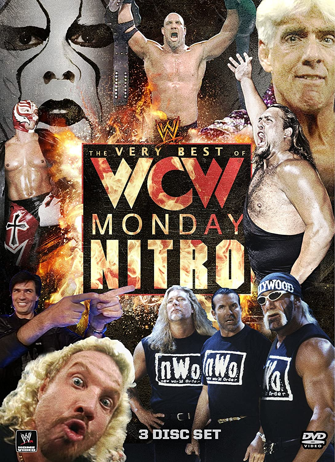 Amazon.com: The Very Best of WCW Monday Nitro: Diamond Dallas Page,  Goldberg, Sting: Movies & TV