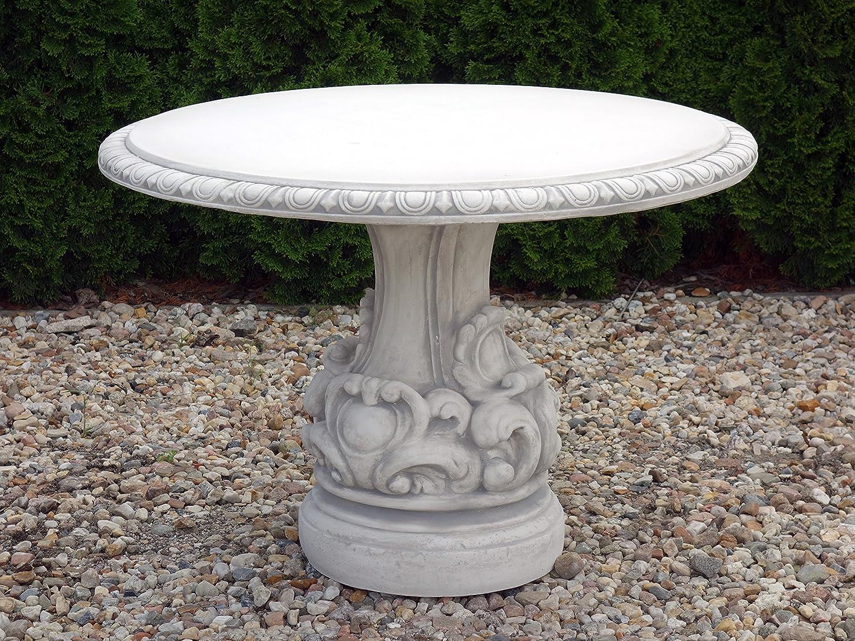 Muebles de Jardín Mesa de piedra, resistente a las heladas ...