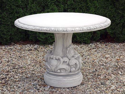Muebles de Jardín Mesa de piedra, resistente a las heladas.: Amazon.es: Jardín
